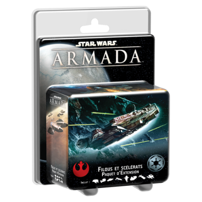 STAR WARS ARMADA: ROGUES AND VILLAINS ENGLISH