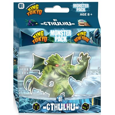 KING OF TOKYO/ NY: MONSTER PACK 1 : CTHULHU (FRANÇAIS)