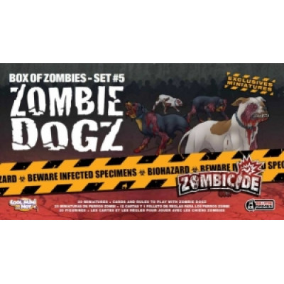 ZOMBICIDE:SET 05 ZOMBIE DOGZ   (MULTILINGUE)