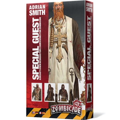 ZOMBICIDE: SPECIAL GUEST ART BOX ADRIAN SMITH (MULTILINGUE)