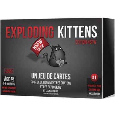 EXPLODING KITTENS ÉDITION NSFW
