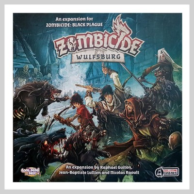 ZOMBICIDE BLACK PLAGUE - WULFSBURG EXT