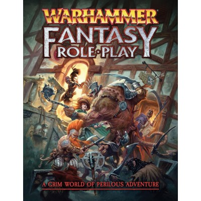 WARHAMMER FANTASY ROLEPLAY 4TH EDITION RULEBOOK ENG