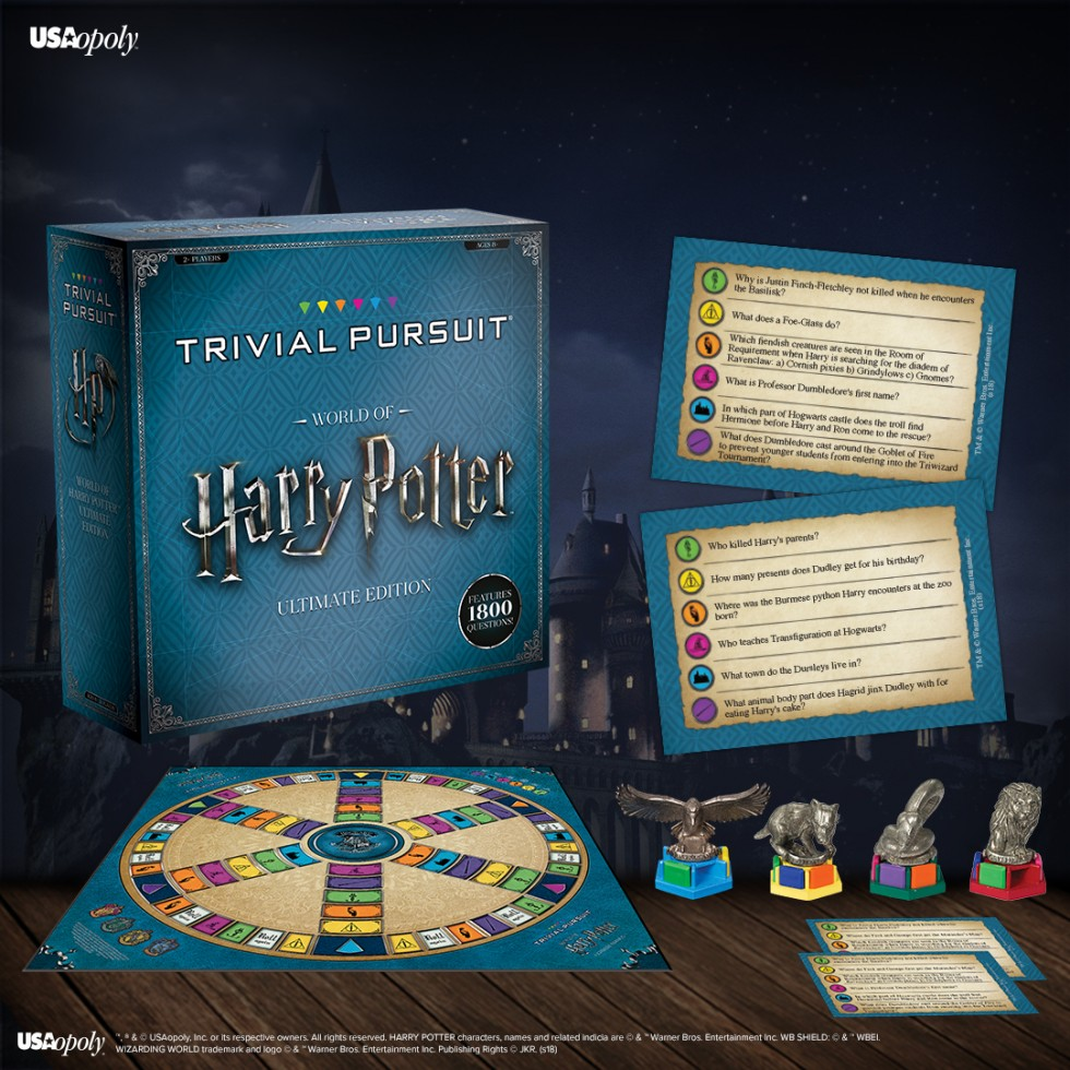 TRIVIAL PURSUIT World of Harry Potter Edition