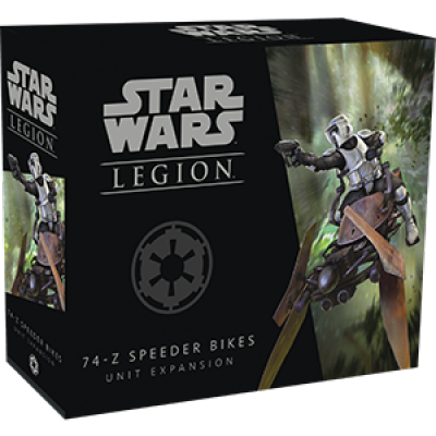 STAR WARS : LEGION - 74Z SPEEDER BIKES UNIT EXPANSION ENG