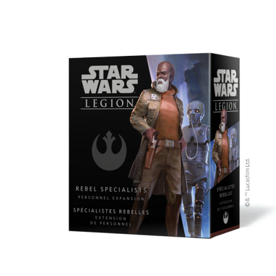 STAR WARS : LEGION - REBEL SPECIALISTS PERSONNEL EXPANSION ENG