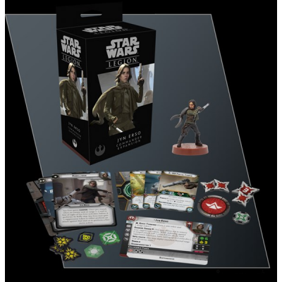 STAR WARS : LEGION - JYN ERSO COMMANDER EXP. ENG