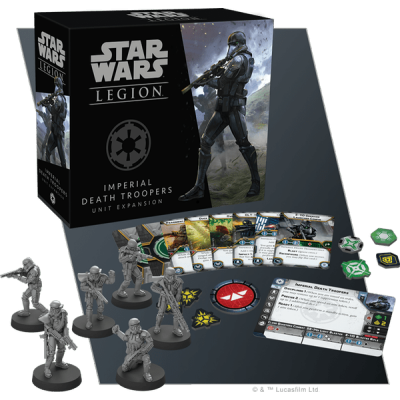 STAR WARS : LEGION - IMPERIAL DEATH TROOPERS UNIT EXP. ENG