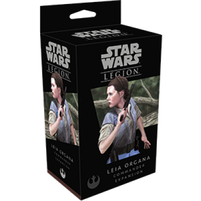 STAR WARS : LEGION - LEIA ORGANA COMMANDER ENG