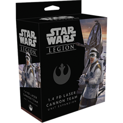 STAR WARS : LEGION - 1.4 FD LASER CANNON TEAM ENG