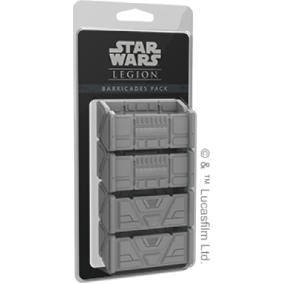 STAR WARS : LEGION - BARRICADES PACK ENG