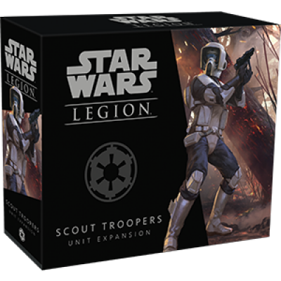 STAR WARS : LEGION - SCOUT TROOPERS UNIT EXP.ENG