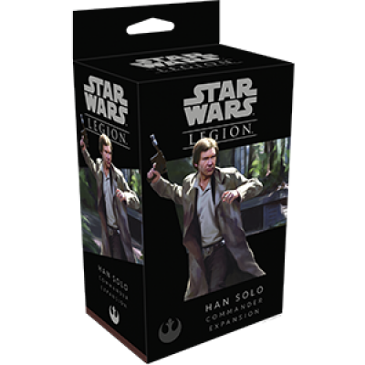 STAR WARS : LEGION - HAN SOLO COMMANDER ENG