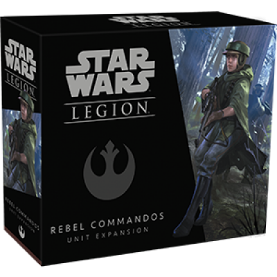 STAR WARS : LEGION - REBEL COMMANDOS UNIT EXPANSION ENG