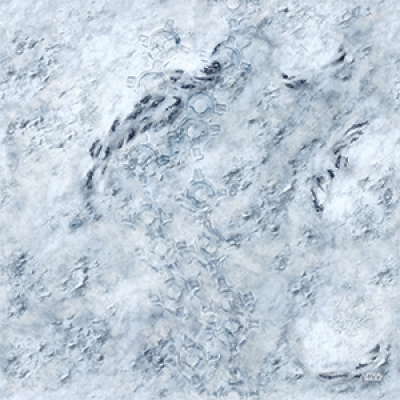 STAR WARS LEGION : HOTH GAME MAT