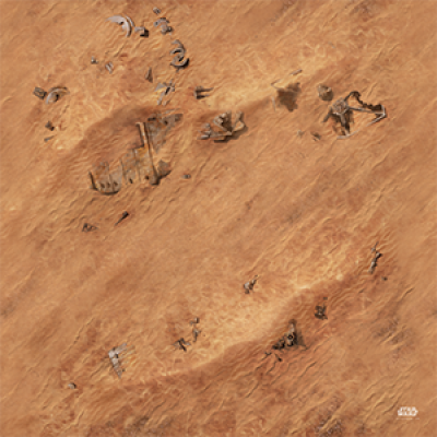 STAR WARS LEGION : JAKKU GAME MAT