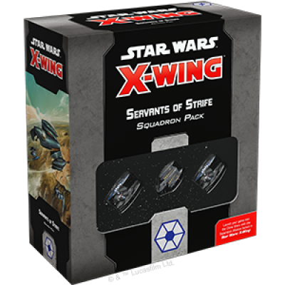 STAR WARS : X-WING 2.0 - SERVANTS OF STRIFE ENGLISH