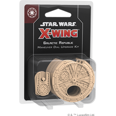STAR WARS X-WING 2.0 GALACTIC REPUBLIC DIAL UPGRADE ENGLISH