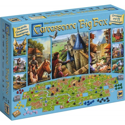 CARCASSONNE : BIG BOX VERSION 2017 (FRANÇAIS)