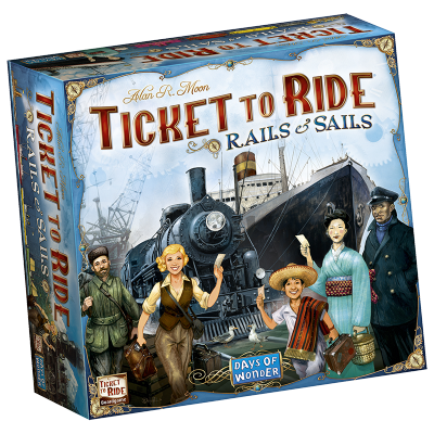 TICKET TO RIDE: RAILS AND SAILS (ANGLAIS)