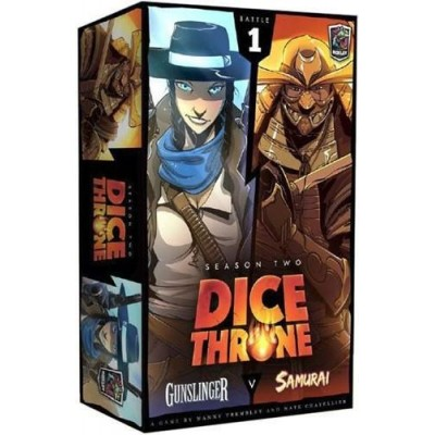 DICE THRONE SEASON 2 (ANGLAIS) GUNSLINGER / SAMURAI