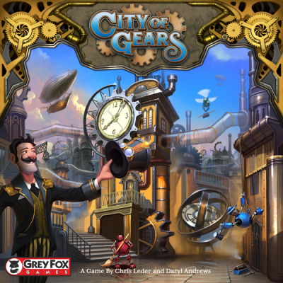 CITY OF GEARS (ANGLAIS)