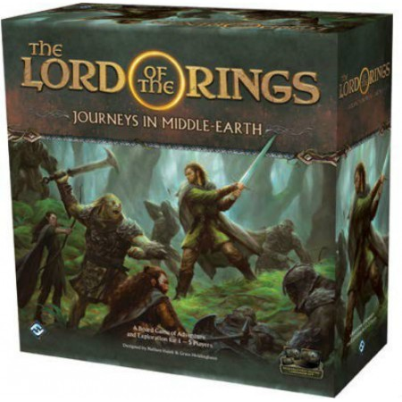 THE LORD OF THE RINGS - JOURNEYS IN MIDDLE-EARTH (ANGLAIS)