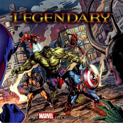 LEGENDARY: A MARVEL DECK BUILDING GAME (ANGLAIS)