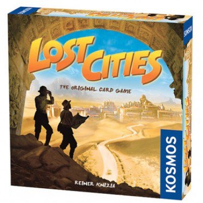 LOST CITIES CARD GAME (ANGLAIS)