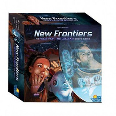 NEW FRONTIER - THE RACE FOR THE GALAXY BOARD GAME (ANGLAIS)