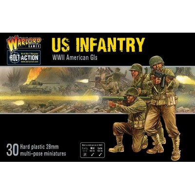 Bolt Action US Infantry  402013012