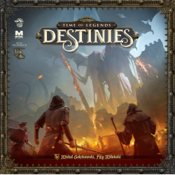 Knight Pledge 1 copy of Time of Legends: Destinies - Core Box including the free Myth and Folklore expansion.